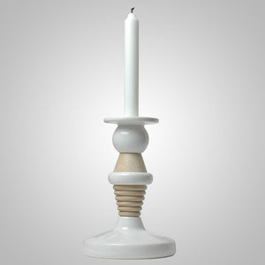 Candle Holder Small White