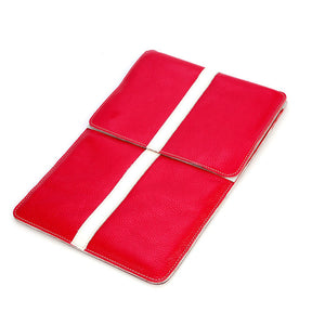 iPad 2/3 Leather Pouch Red