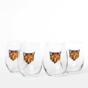 Fox Roly-Poly Set Of 4