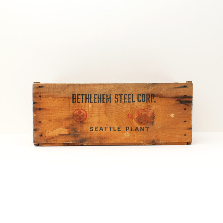 Bethlehem Steep Corp. Wood Crate