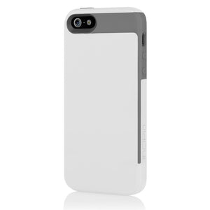 iPhone 5 Faxion Case White/Gray