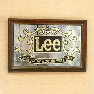 Lee Logo Mirror I