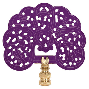 Tempting Purple Finial