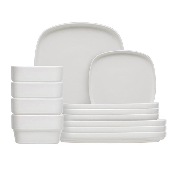 Dow Stackware 12 Piece Set White
