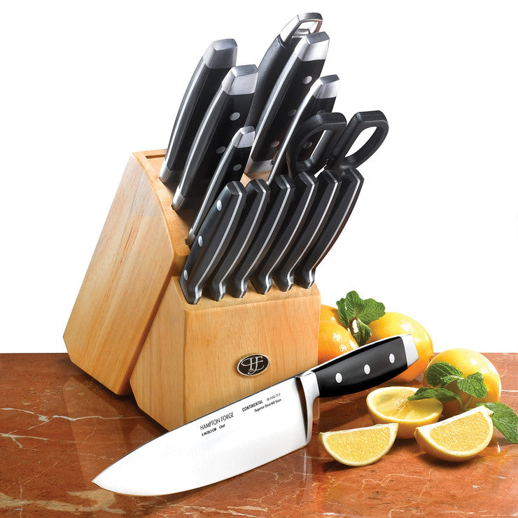 Continental Knife Set With Block