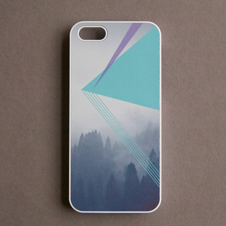 iPhone 5 Case Mint Triangle
