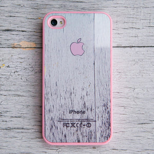 iPhone 4/4S Case Apple Logo Pink