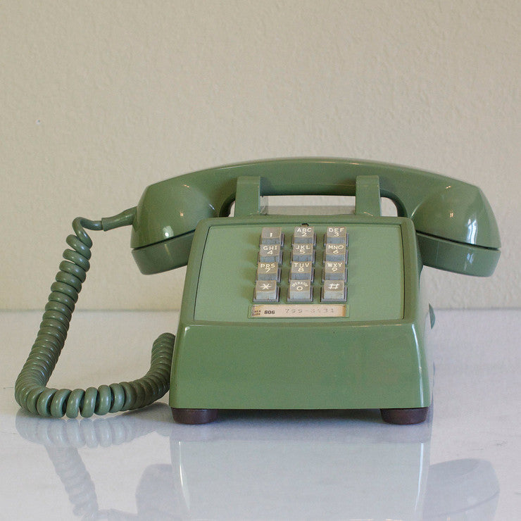 1973 TouchTone Phone Green