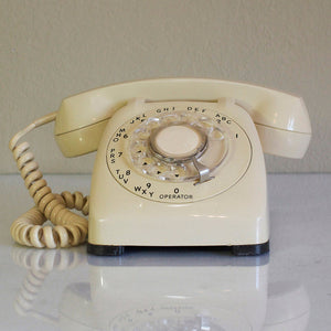 1964 Desk Phone Beige