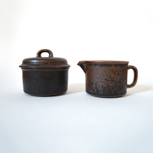 Arabia Ruska Sugar & Creamer Set
