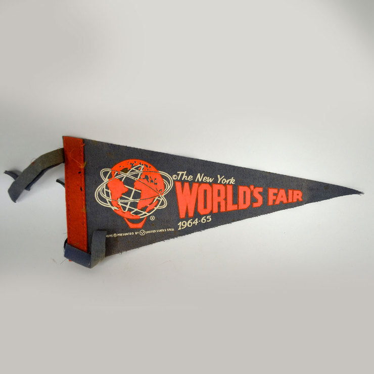 1964 World's Fair Mini Pennant