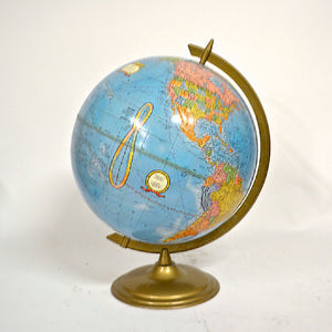 Globe With Gold Base