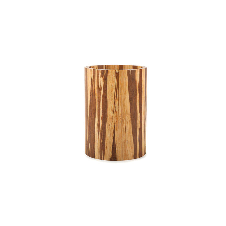 Crushed Bamboo Utensil Holder