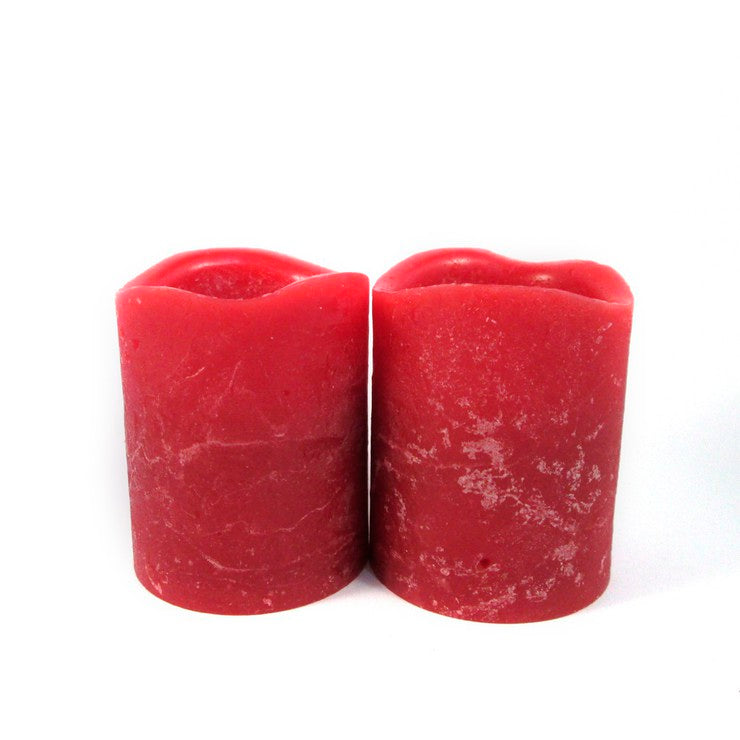 Flameless Candle 2.5\ Red 8Pk""