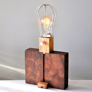 NYC Water Tank Table Lamp