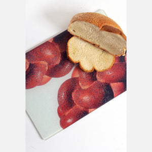 Challah Glass Challah Board