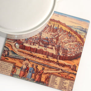 Illuminated Jerusalem Trivet