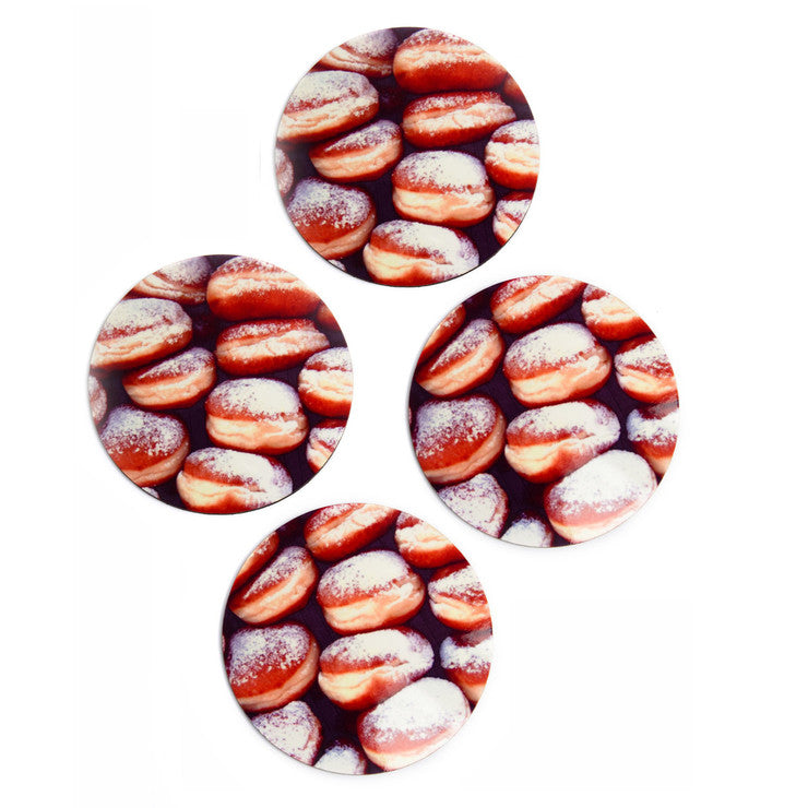 Doughnut Coasters Set Of 4
