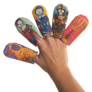 Hanukkah Finger Puppets Set Of 5