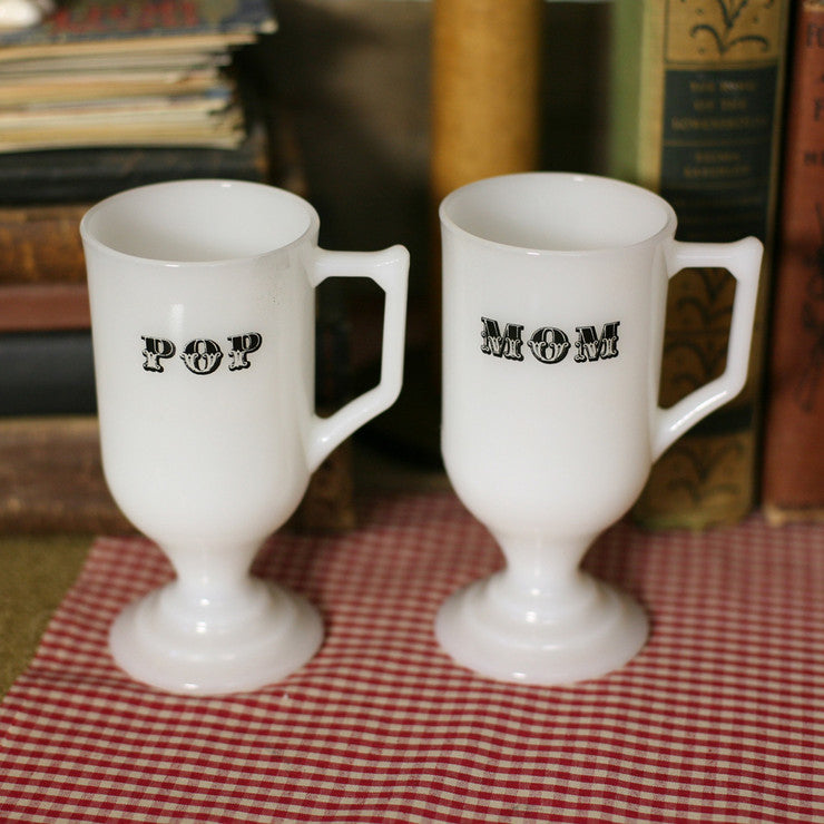 Mom And Pop Cups Pair