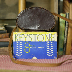 Keystone 8mm Movie Camera