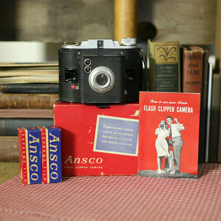 Ansco Flash Clipper With Box