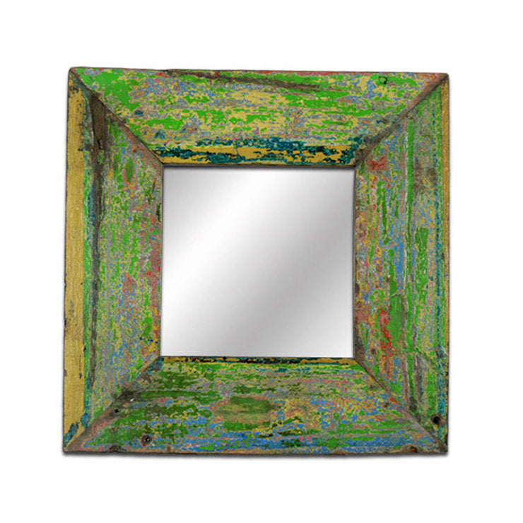 Green Square Mirror I
