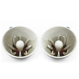 Octopus Creature Cup Set Blue