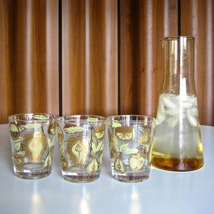 Pear And Apple Glasses Set Of 7