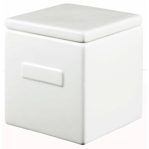 Box White With White Lid
