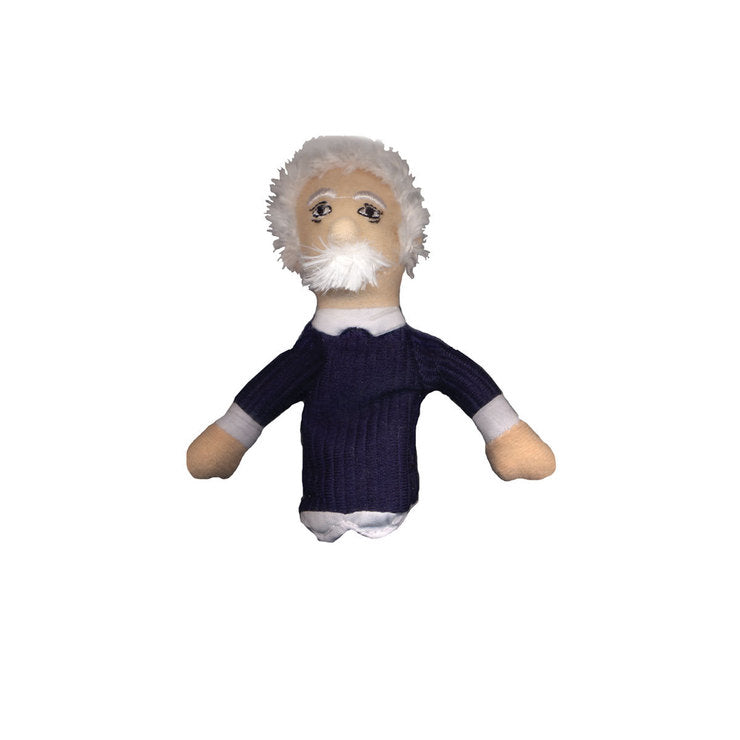Albert Einstein Finger Puppet