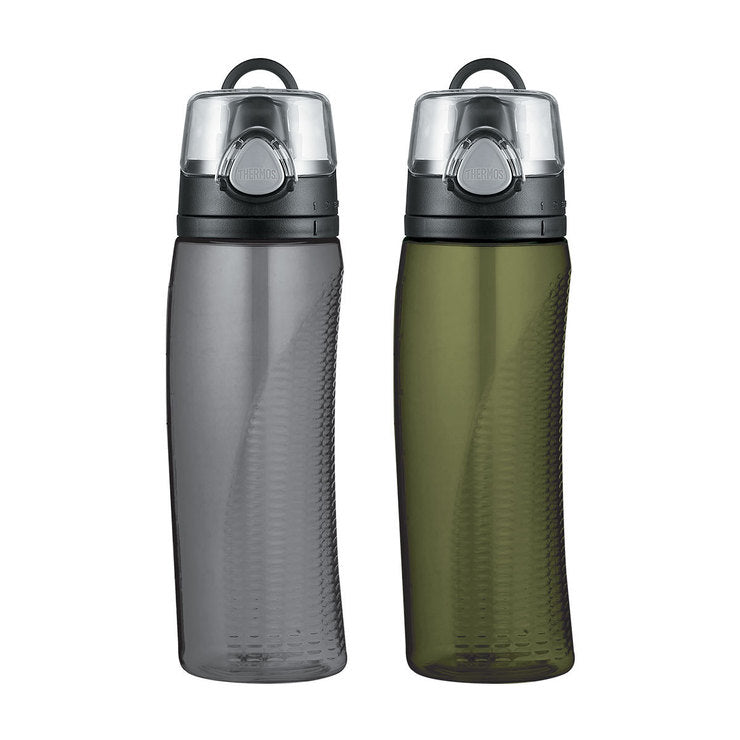 Hydration Bottle Olive Gray Set