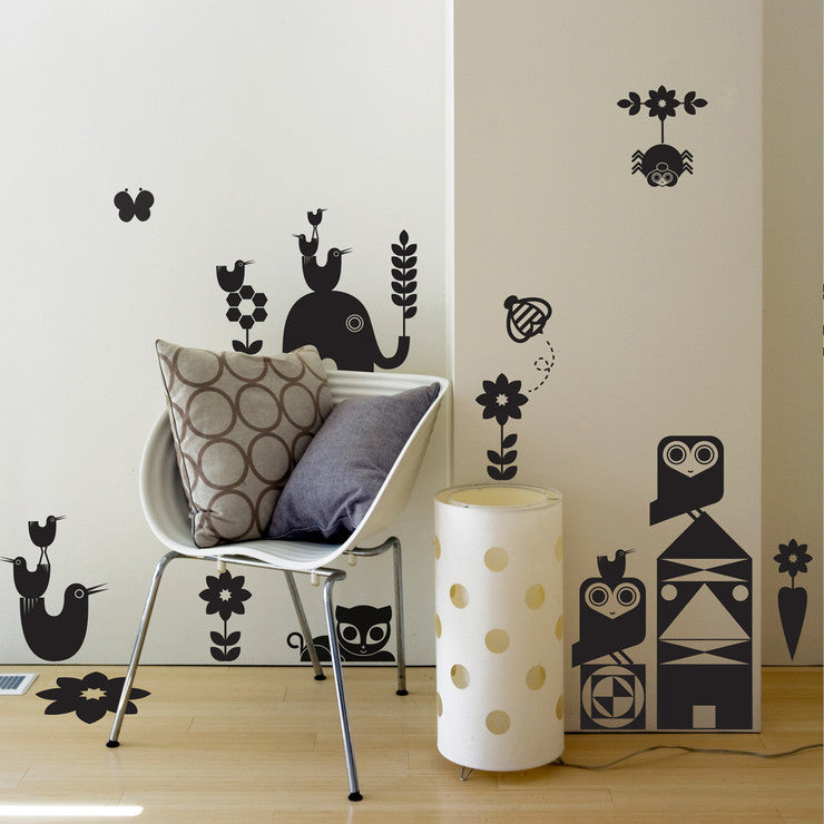 Animal Friendlies Wall Decals