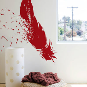 Birds of a Feather Wall Decals