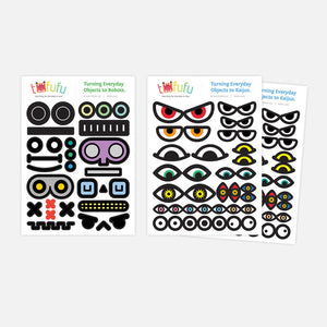Eyes Sticker Set I