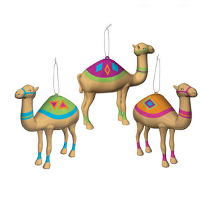 Camel Ornaments Set Of 3