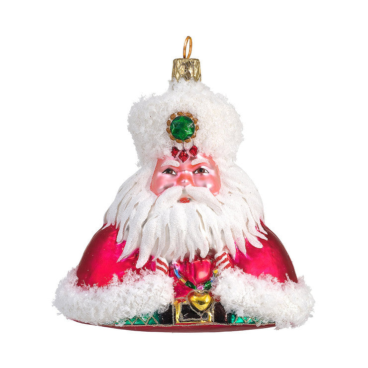 Enchanted Santa Ornament