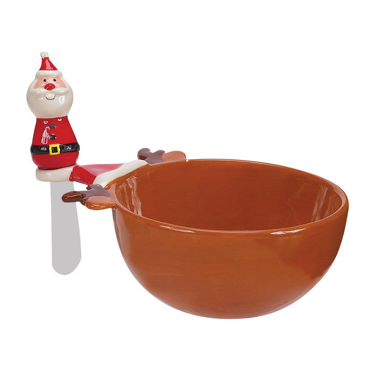 Holly Jolly Dip And Spreader Set