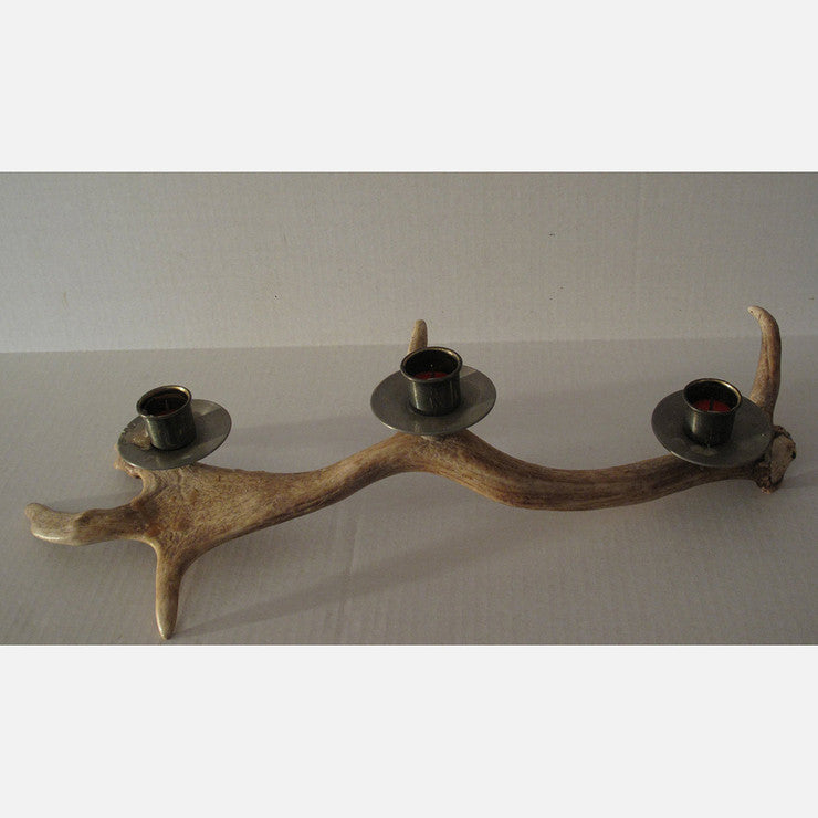Antler Candlestick Holder