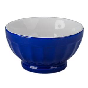 Fluted Bowl 16oz Royal Blue 4Pc