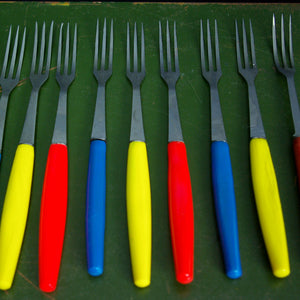 Bright Fondue Forks Set Of 11