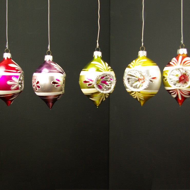 Christmas Ornaments Set Of 5