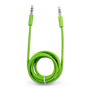 Audio Cable 3.5mm Green