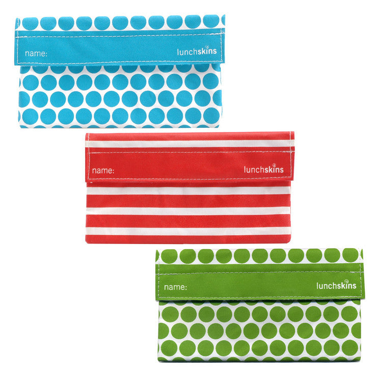 Geometric LunchSkins 3 Pack