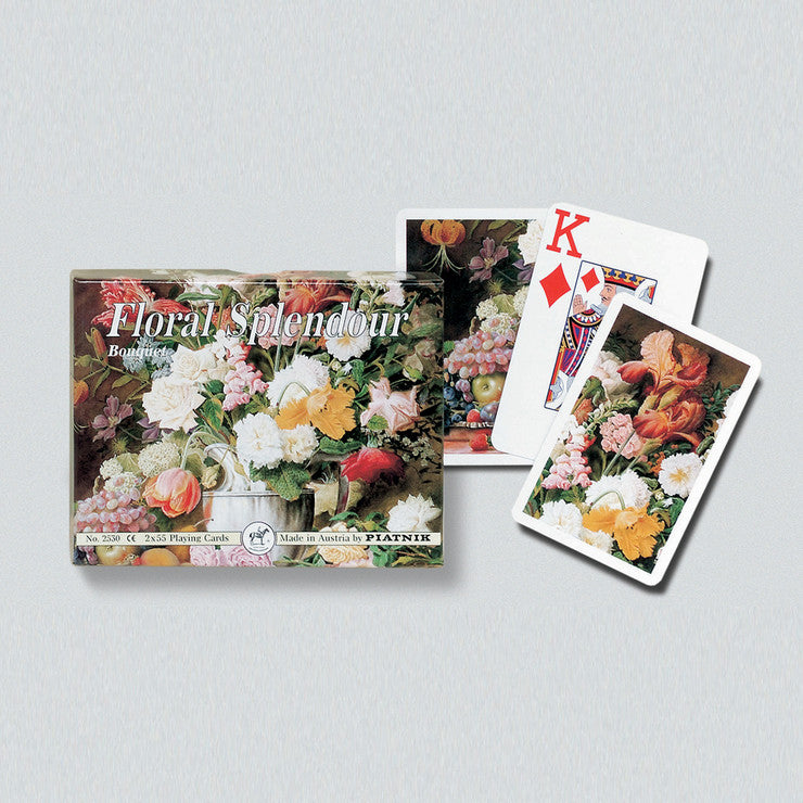 Bouquet Playing Cards