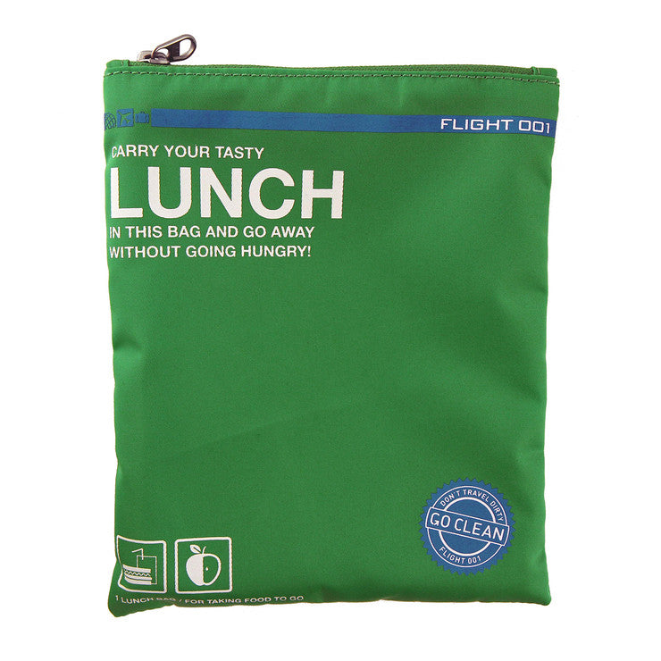 Go Clean Lunch Bag Green