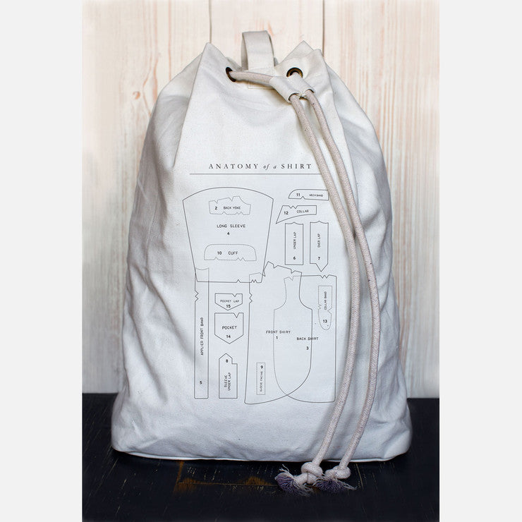 Anatomy Of A Shirt Laundry Bag