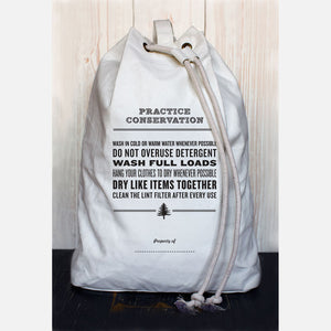Conservation Laundry Bag