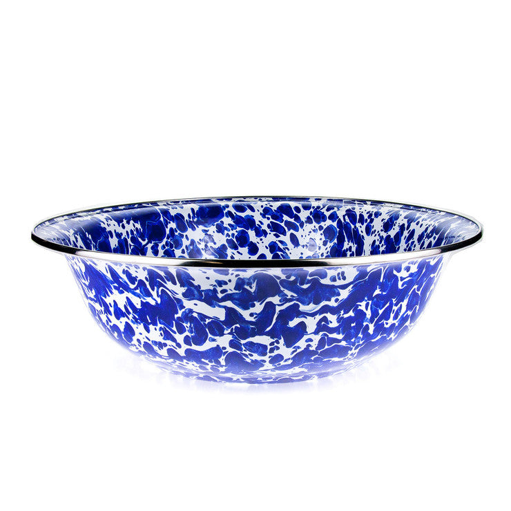 Enamelware Serving Bowl Cobalt