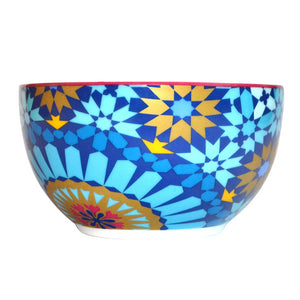 Mosaic Bowl Blue